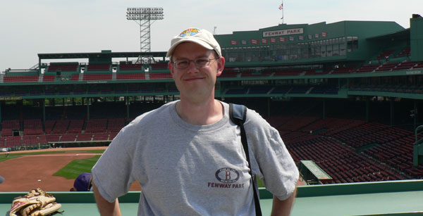 Jeff at Fenway Park, 2006 June 19